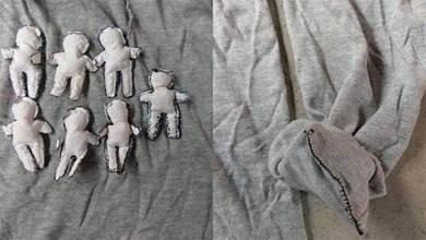 男子離婚後發現前妻在自己衣服內「放了7個小人+袖口全縫」嚇到提問:這是要幹嘛?